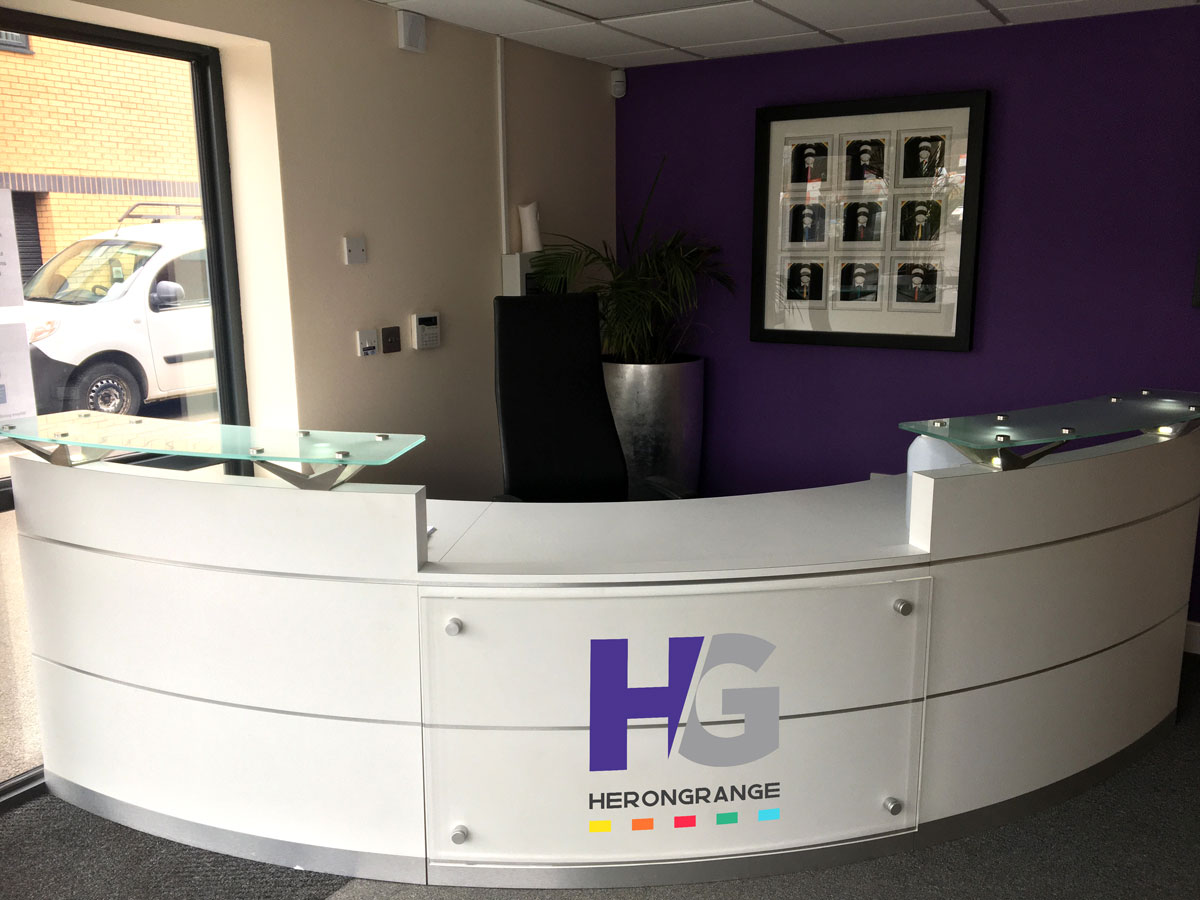 Herongrange Reception Desk
